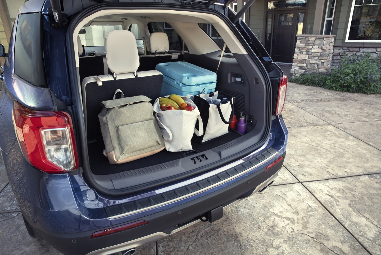 Generous Capacity in the 2020 Ford Explorer