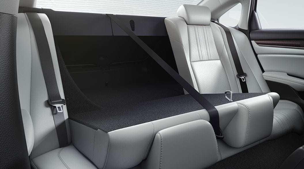 2020 Honda Accord Rear Seating