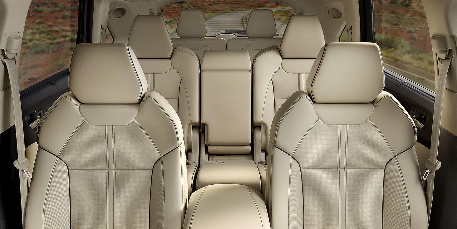 Todos los modelos de la MDX están equipados con una tercera fila de asientos.