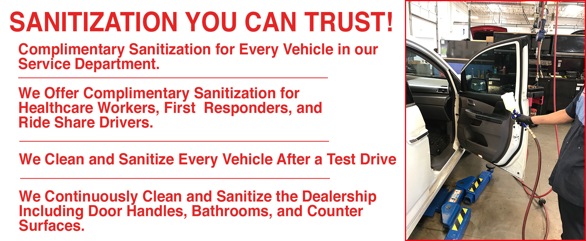 Sanitization you can trust