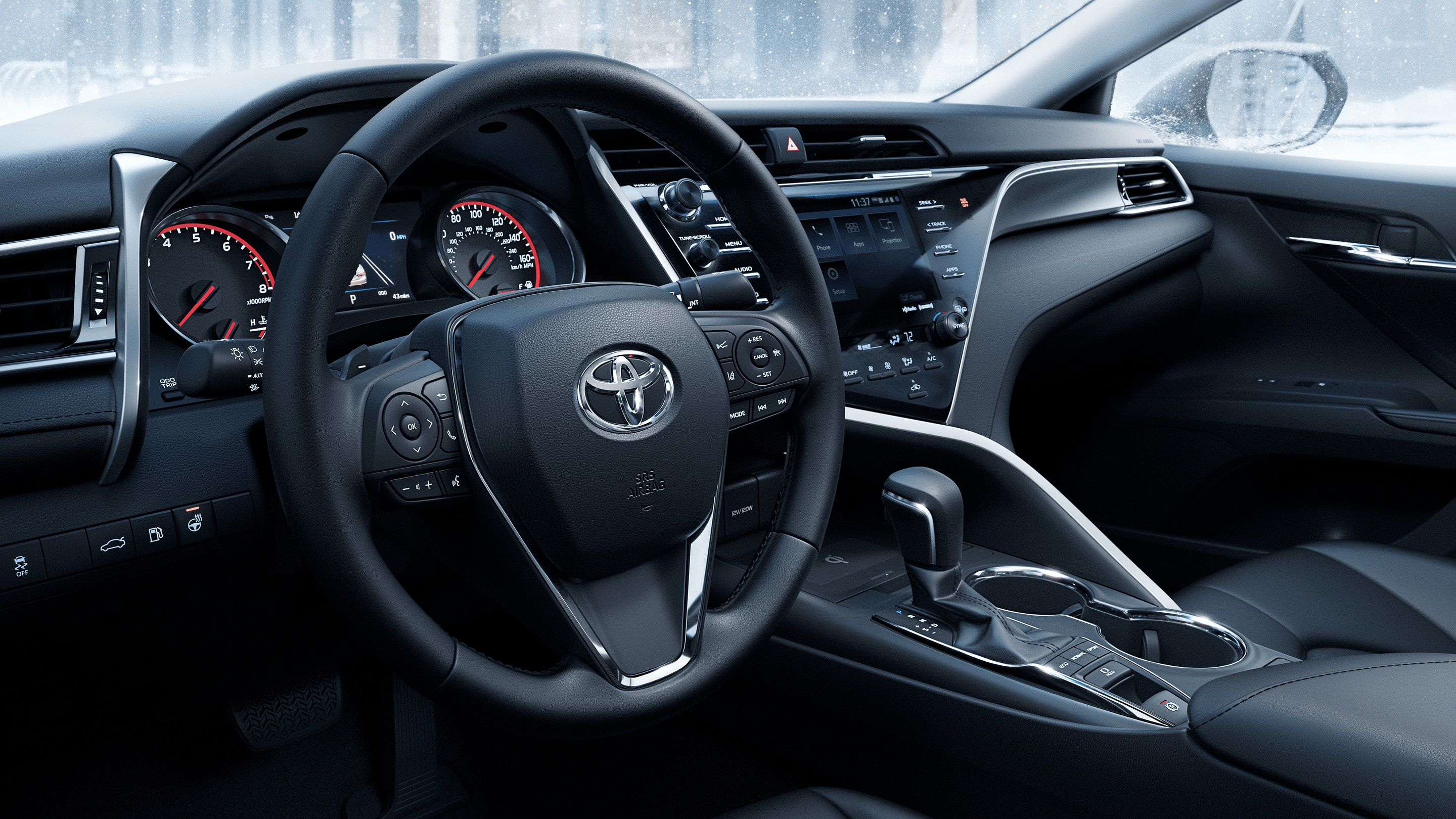 2020 Toyota Camry Front-Row Amenities