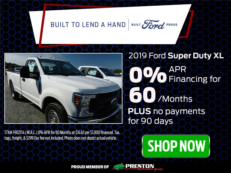2019 Ford Super Duty XL