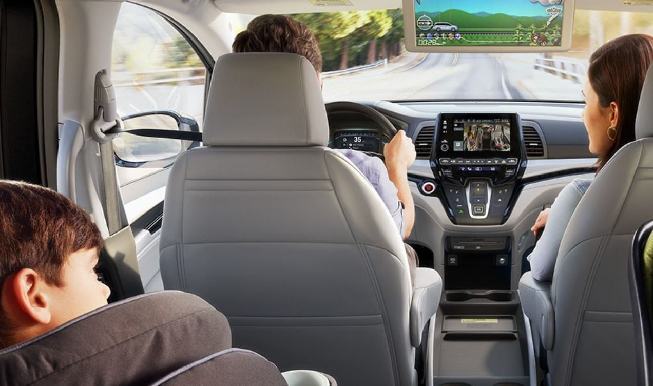 Rear Seat Entertainment in the 2020 Odyssey