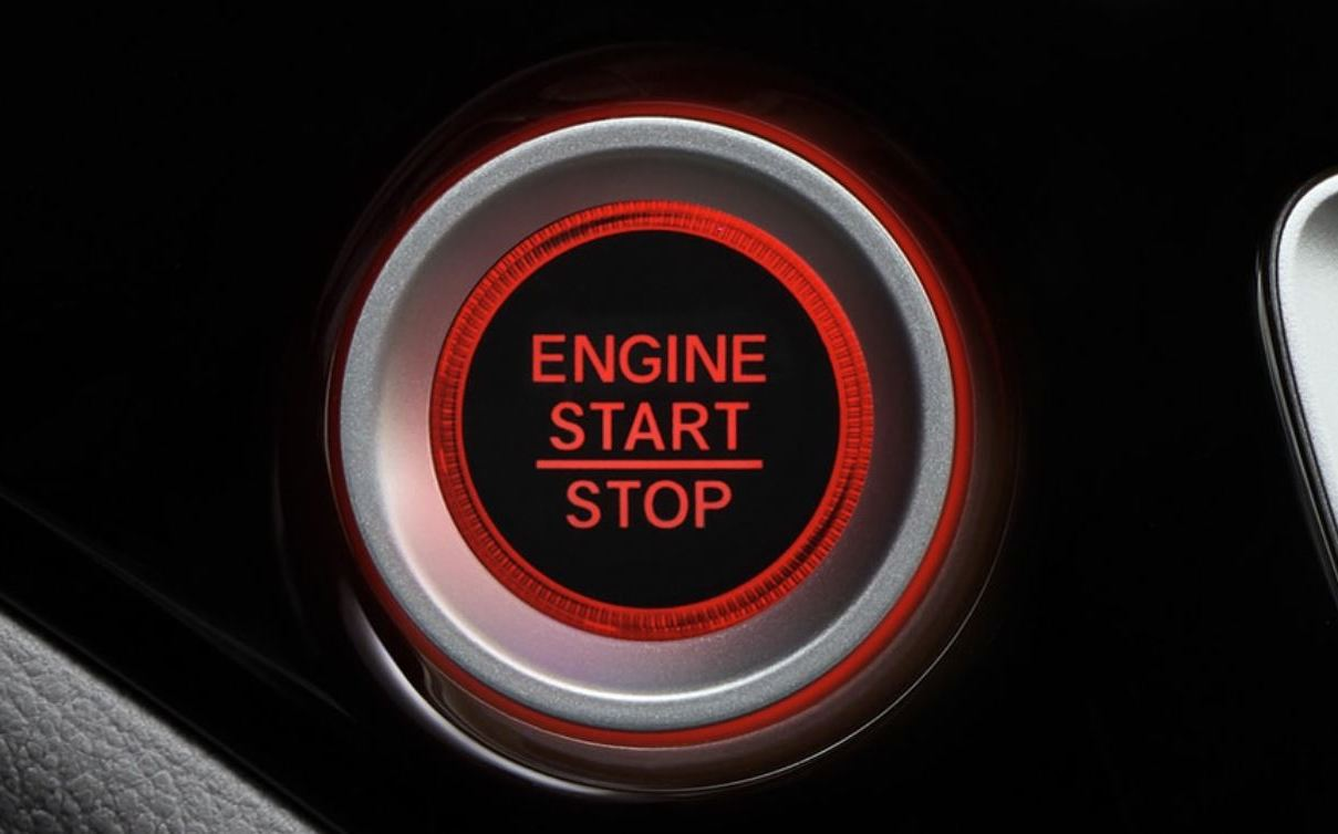 Push Button Start in the 2020 Pilot