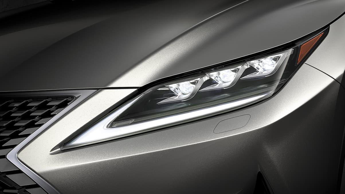 Premium Triple-Beam L-Shaped Headlights on the 2020 Lexus RX 350