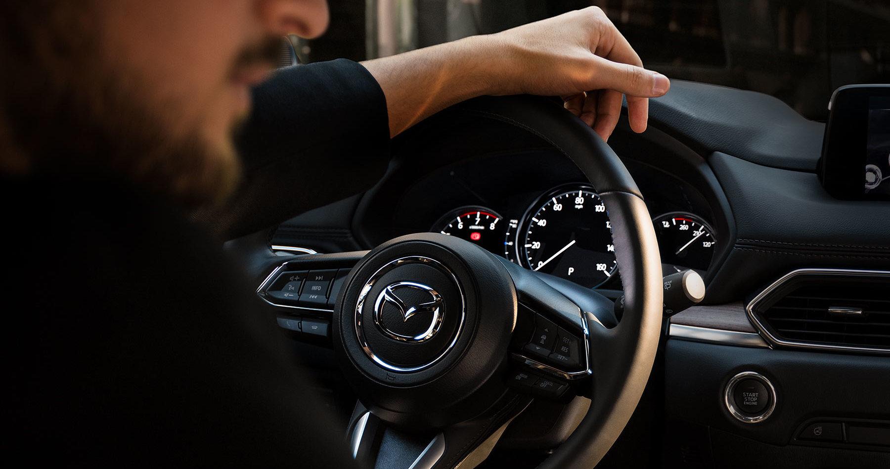 2020 MAZDA CX-5 Steering Wheel-Mounted Controls