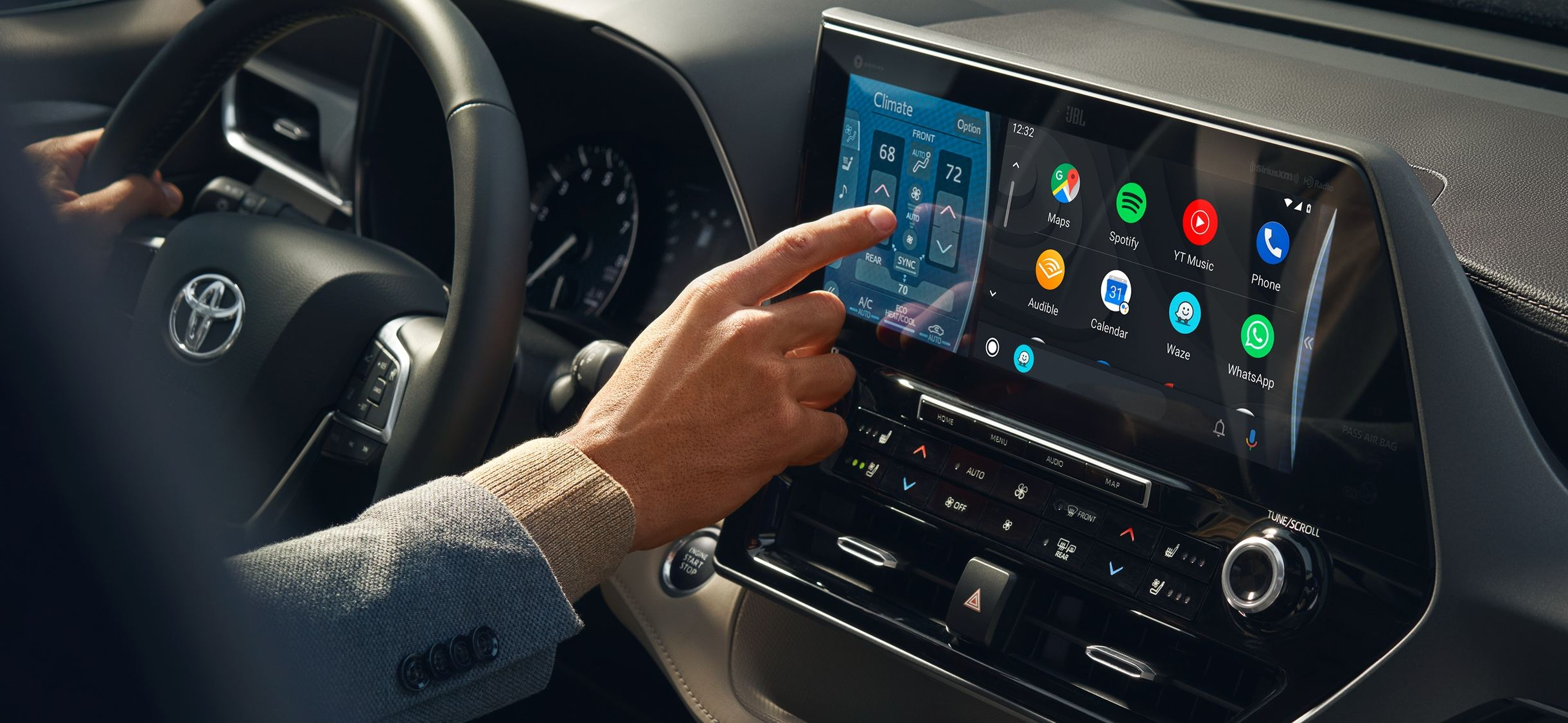 Technologies in the 2020 Highlander