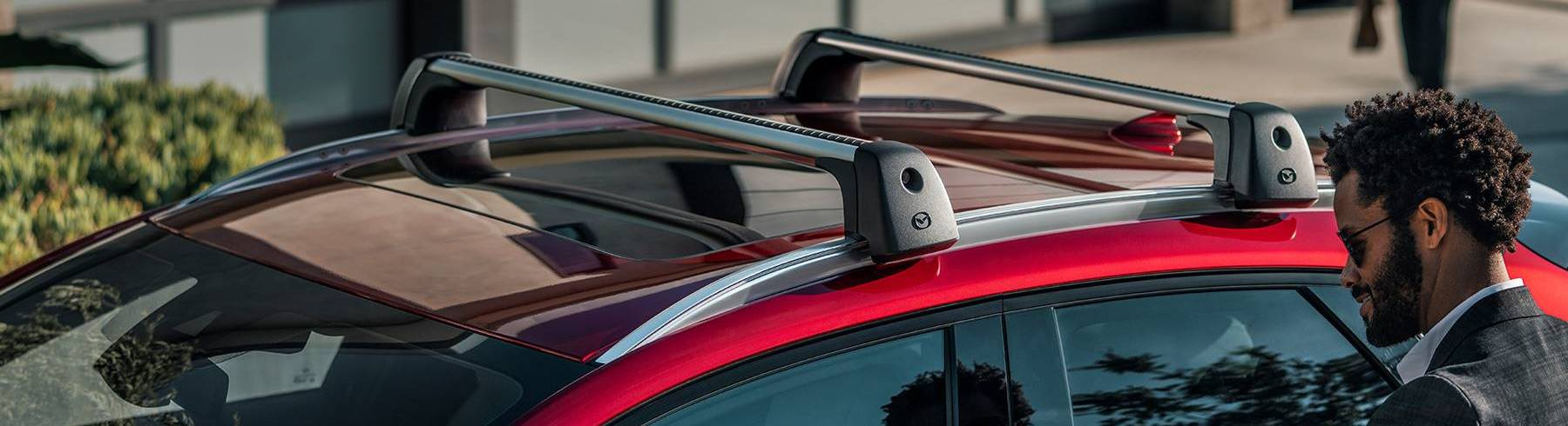 Roof Rails on the 2020 MAZDA CX-30