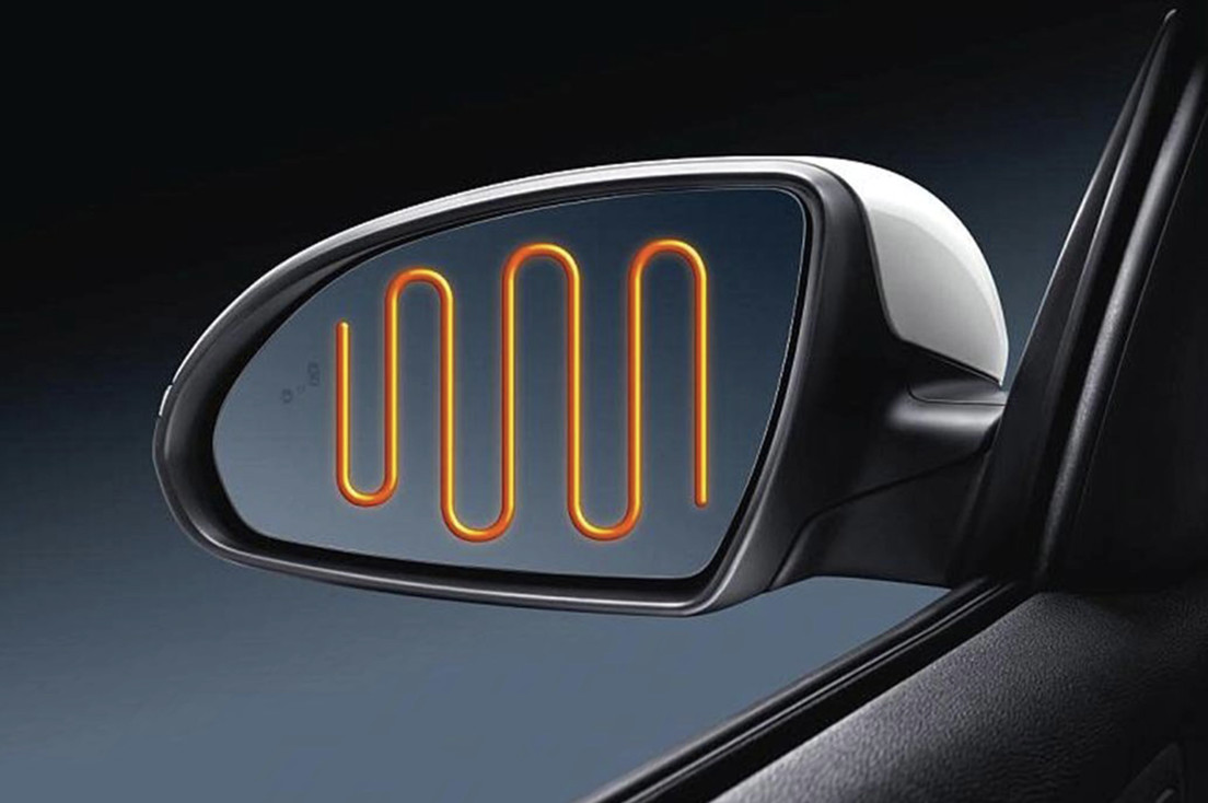 Heated Outside Mirrors on the 2020 Optima