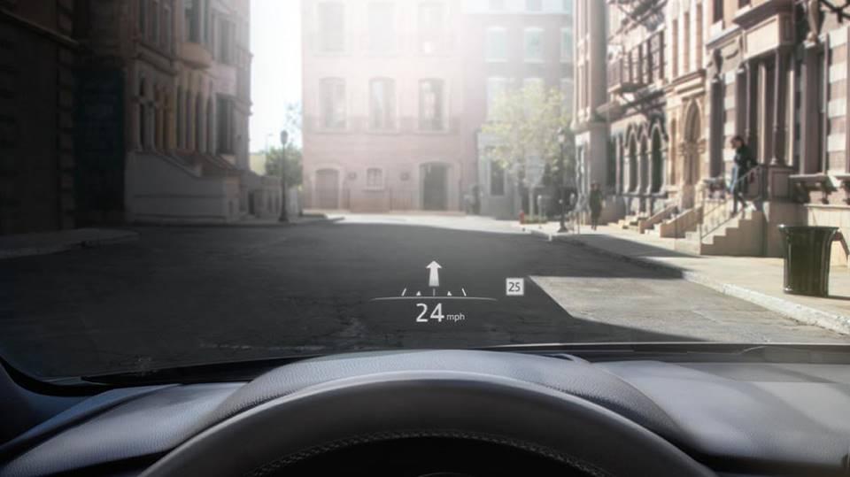 2020 MAZDA CX-5 Active Driving Display