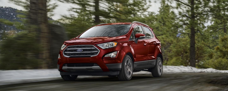 2020 Ford EcoSport Key Features near Dallas, TX