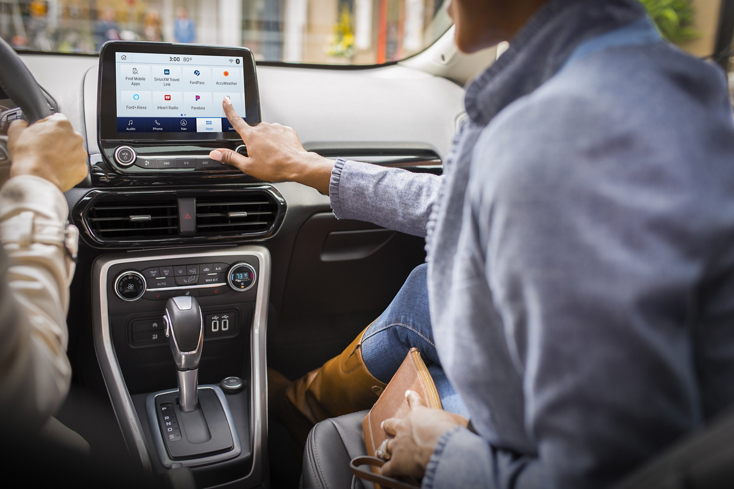 Touchscreen in the 2020 EcoSport