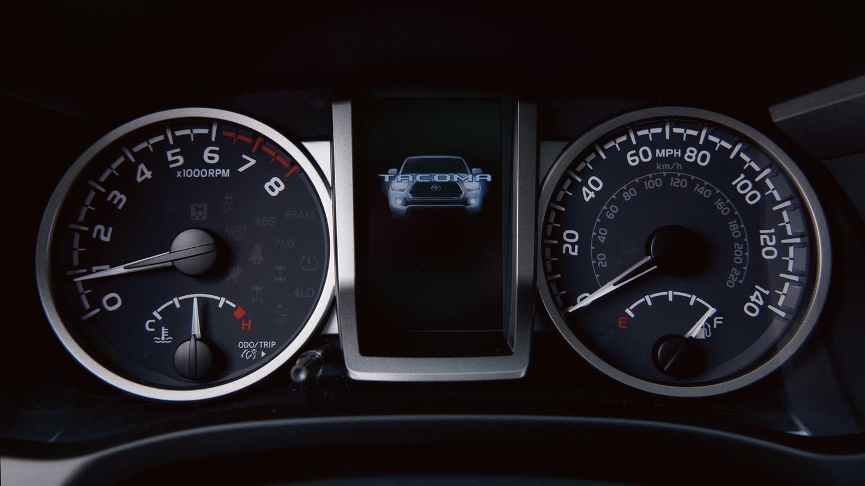 2020 Toyota Tacoma 4.2-inch Multi Information Display