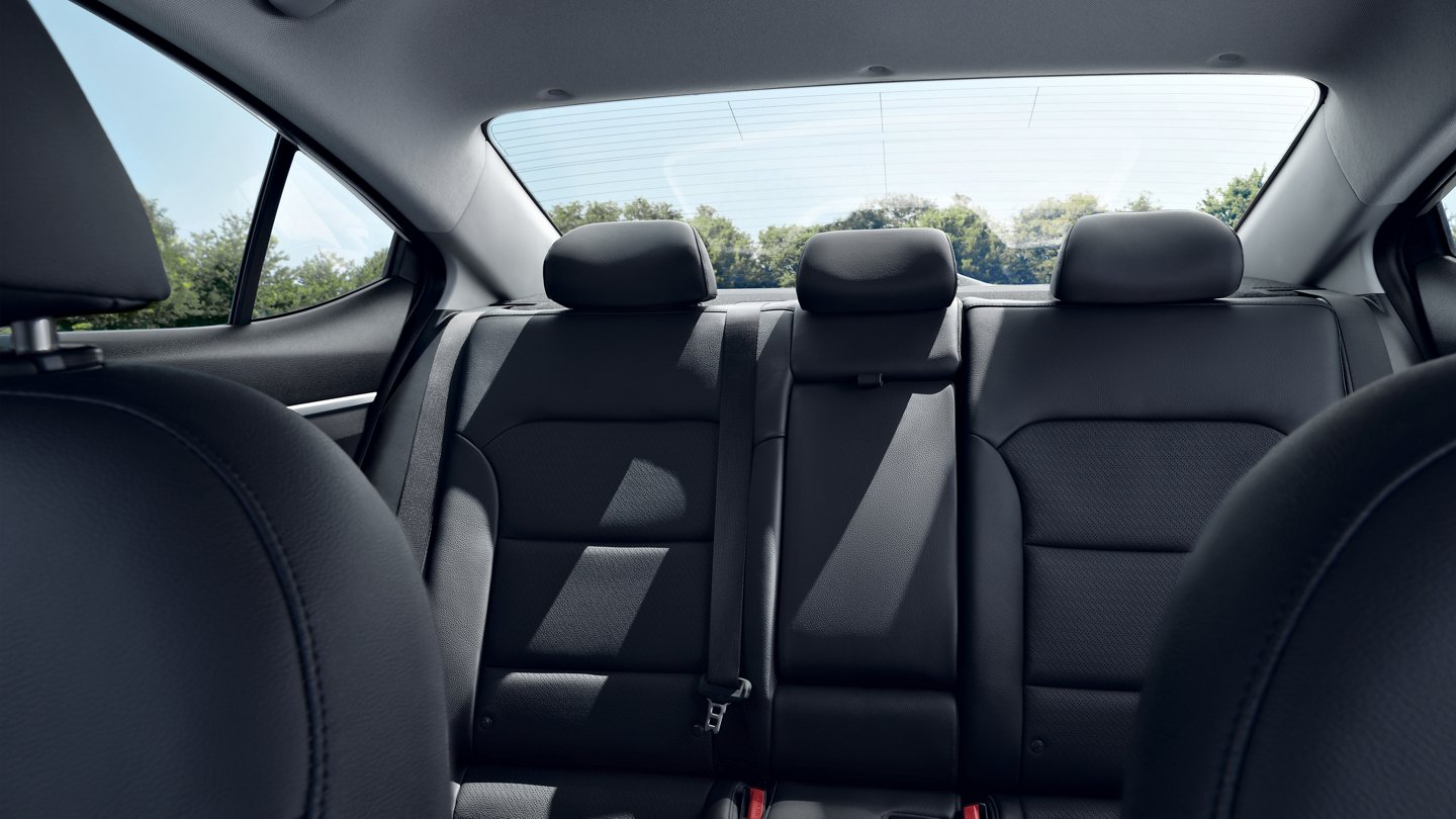 Cozy Seating in the 2020 Elantra