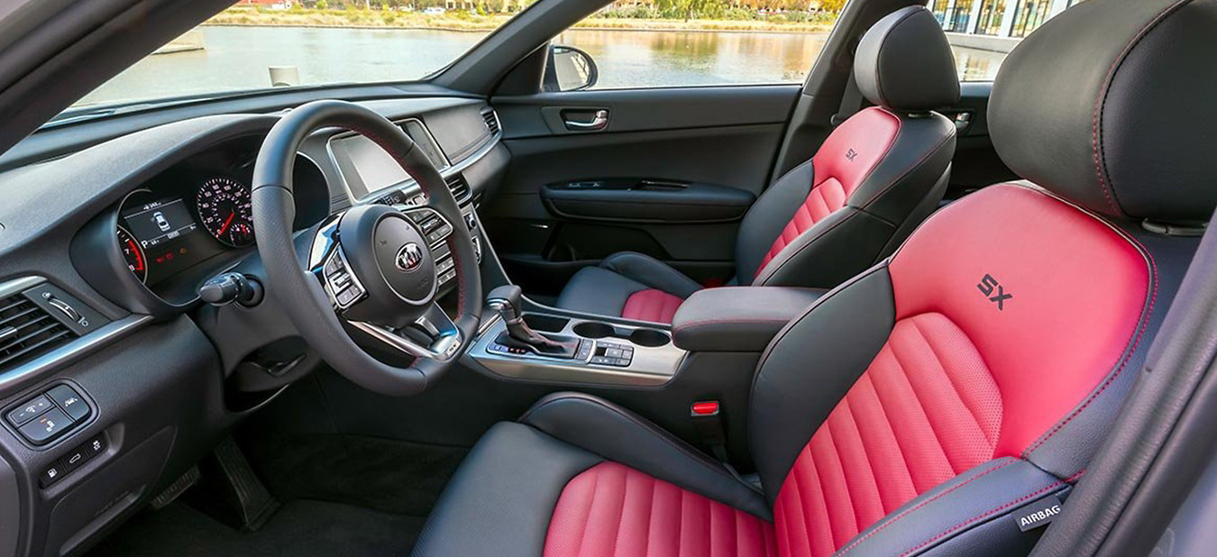 2020 Kia Optima Interior Seats