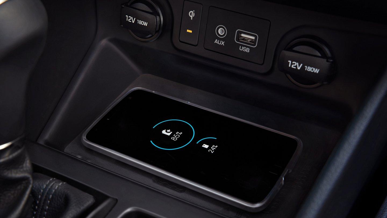 2020 Tucson Wireless Charging