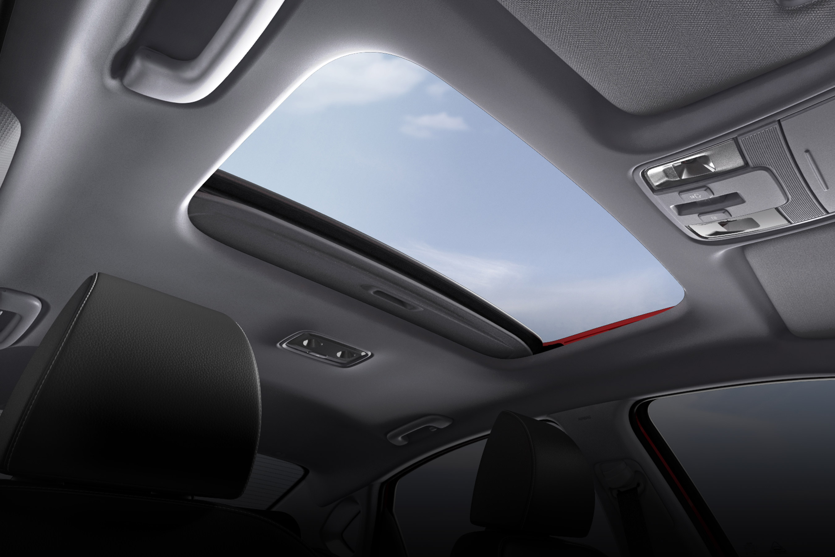 Sunroof in the 2020 Forte