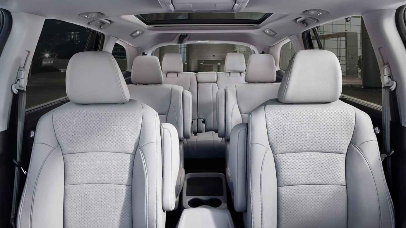 Seating in the 2020 Pilot