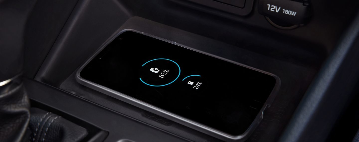 2020 Hyundai Tucson Available Wireless Charger