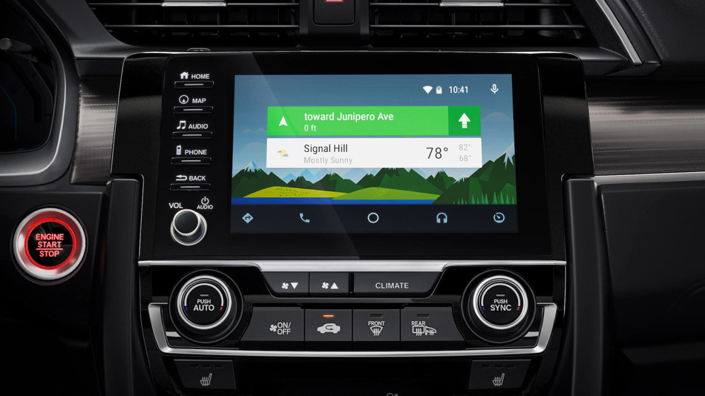 Android Auto™ in the 2020 Civic