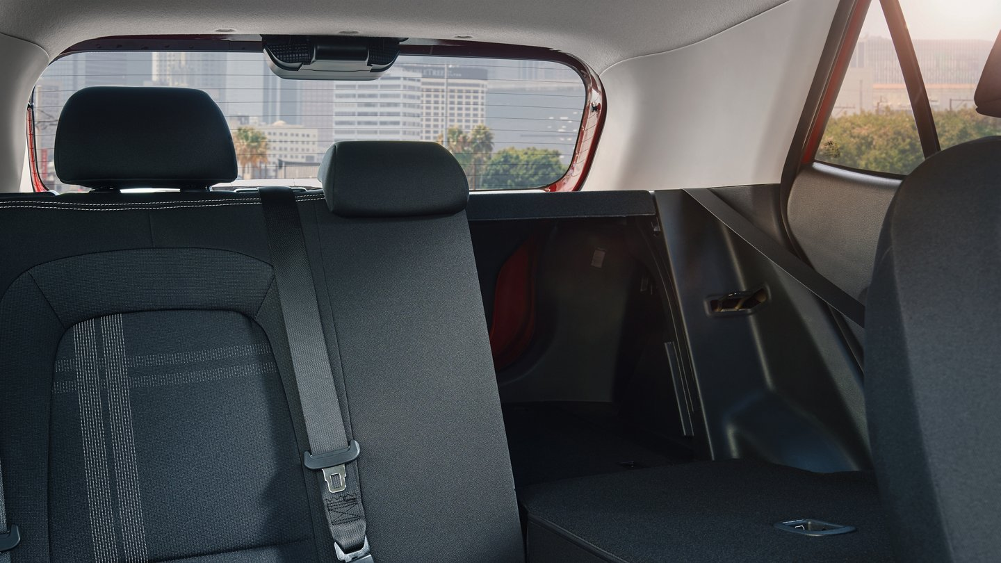 2020 Hyundai Venue Rear Seats