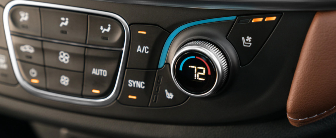 2020 Traverse Climate Control System