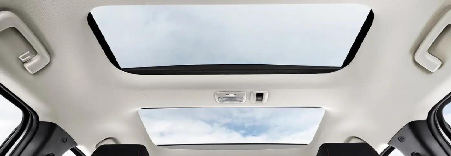 2020 Mitsubishi Eclipse Cross Available Panoramic Sunroof