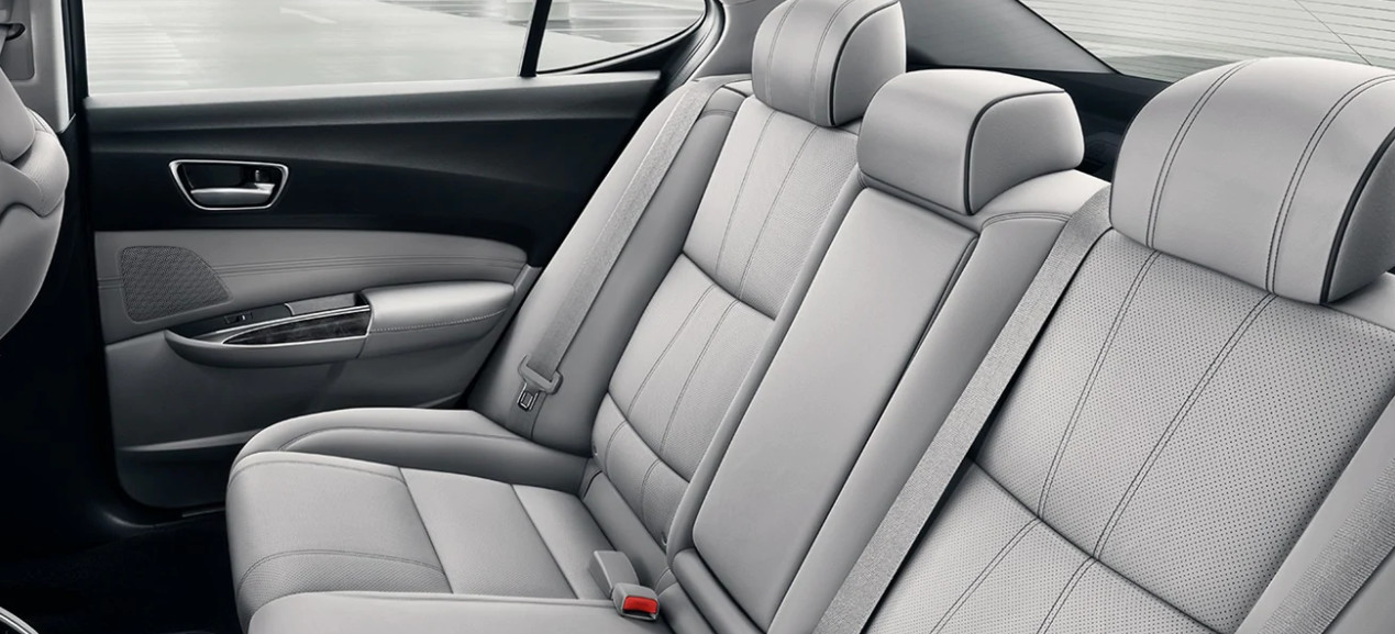 2020 TLX Rear Seats