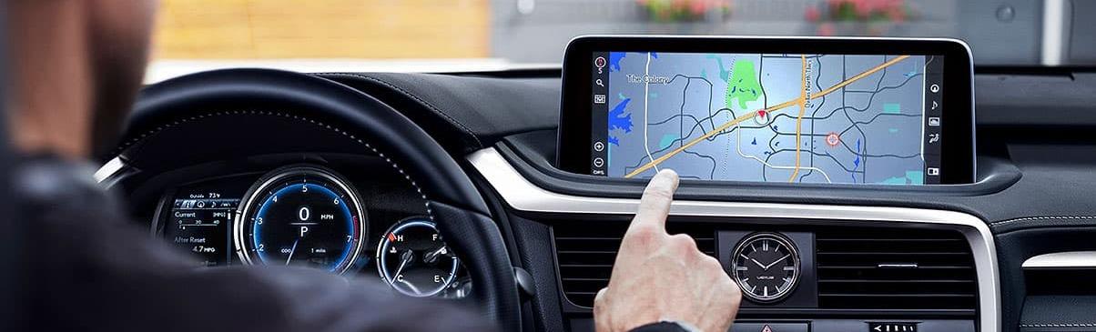 2020 RX 350 Touchscreen