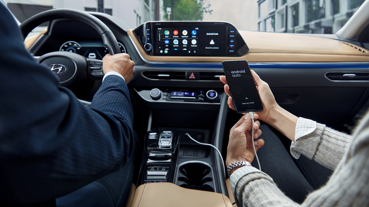 Access Your Apps Quickly in the 2020 Hyundai Sonata!