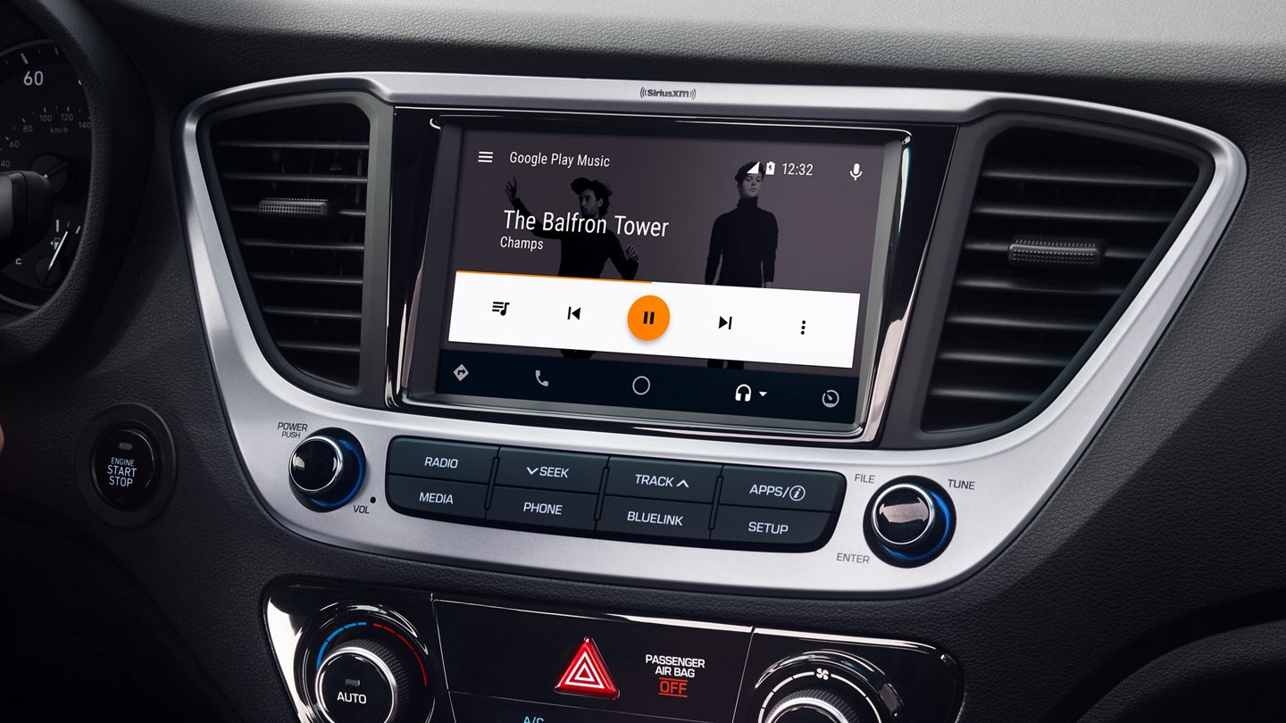 Tap Into Your Favorite Apps in the 2020 Hyundai Accent!