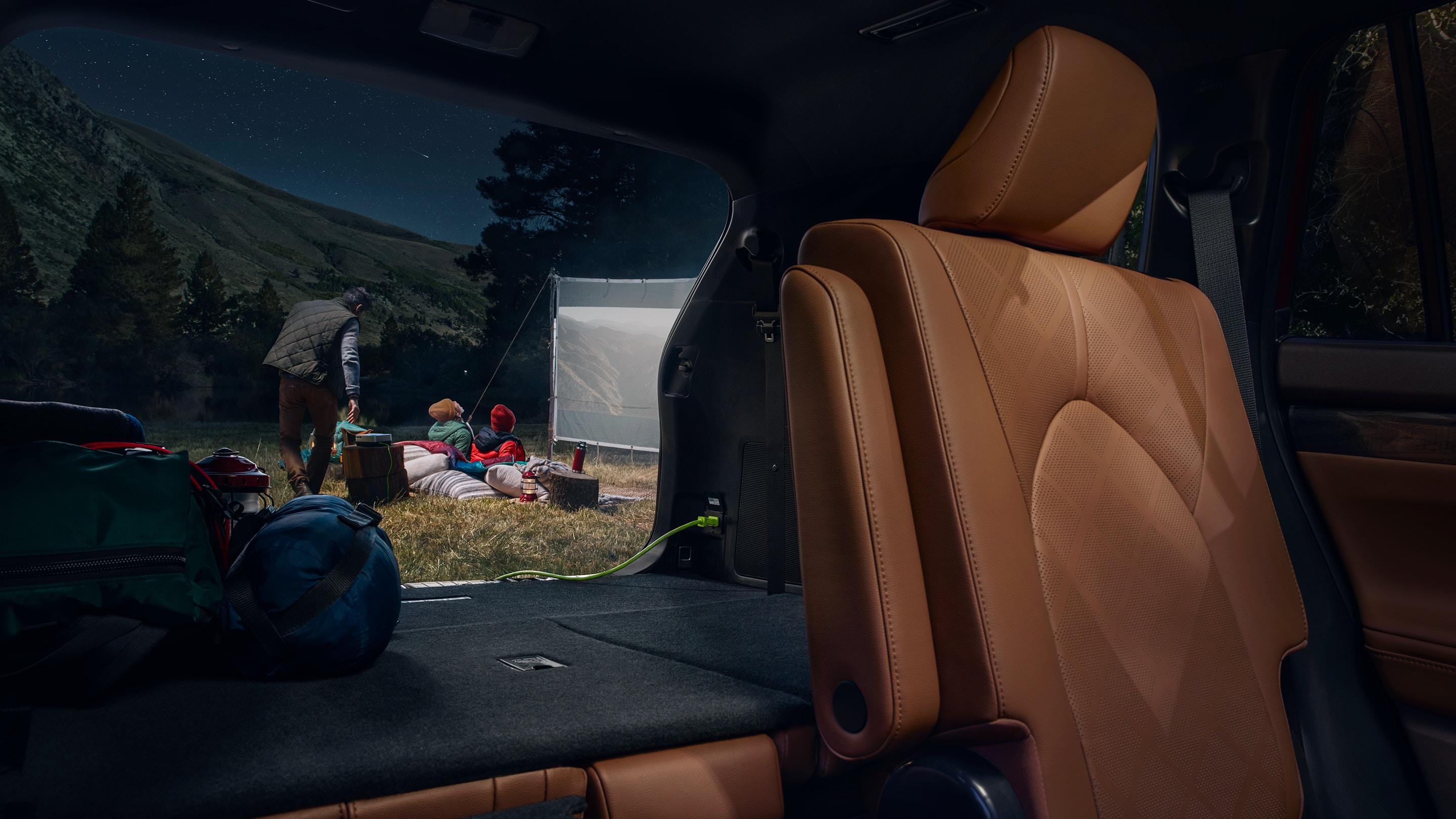 Cargo Space in the 2020 Highlander