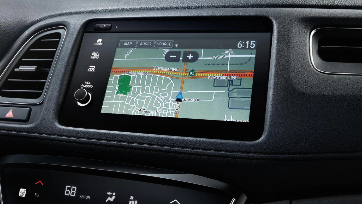 Navigation in the 2020 HR-V