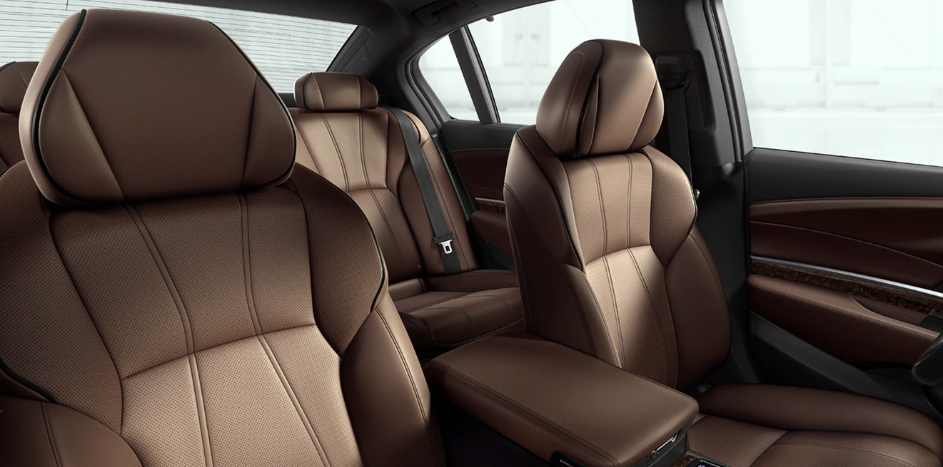 Seating in the 2020 Acura RLX