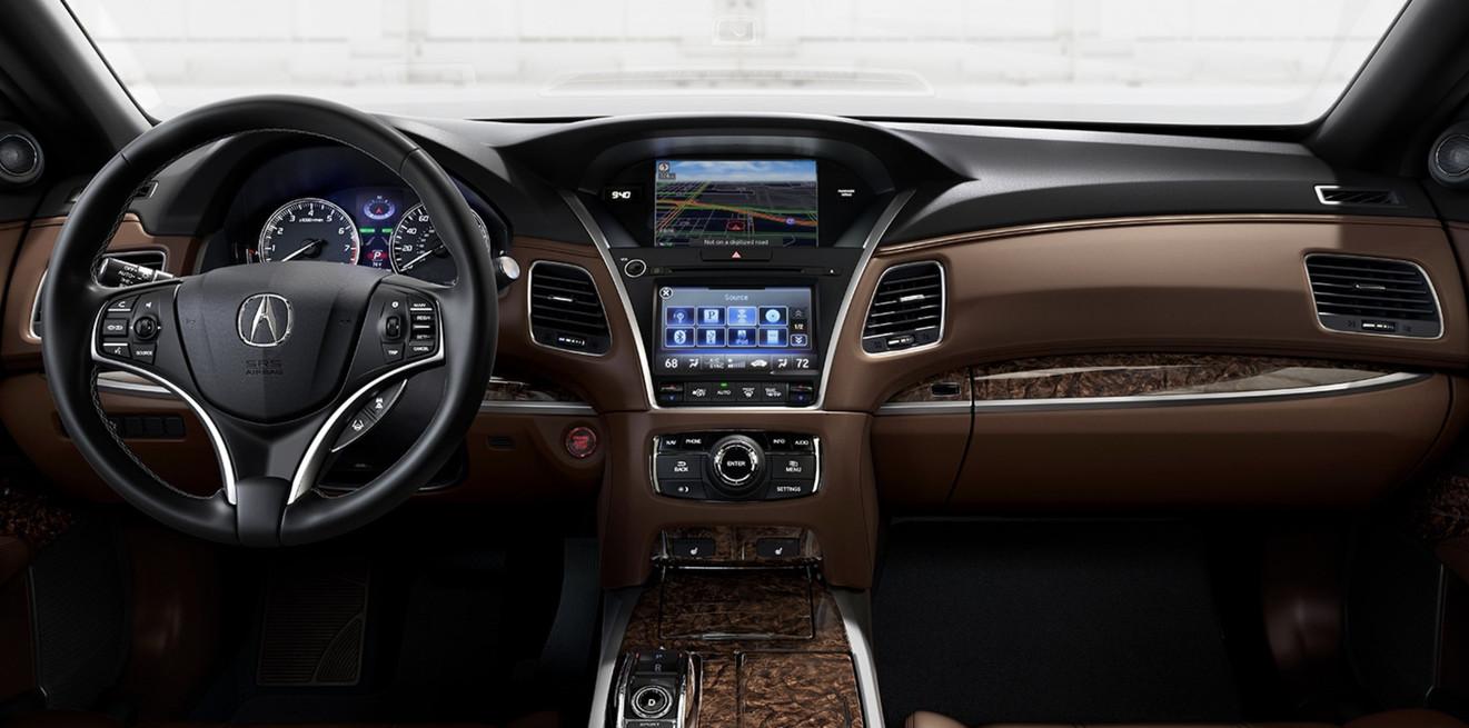 2020 Acura RLX Cockpit