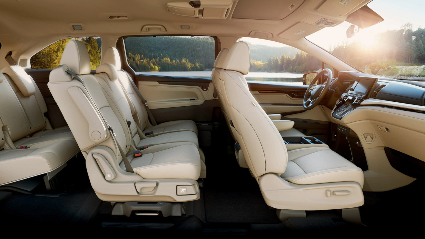 Spacious Seating in the 2020 Odyssey