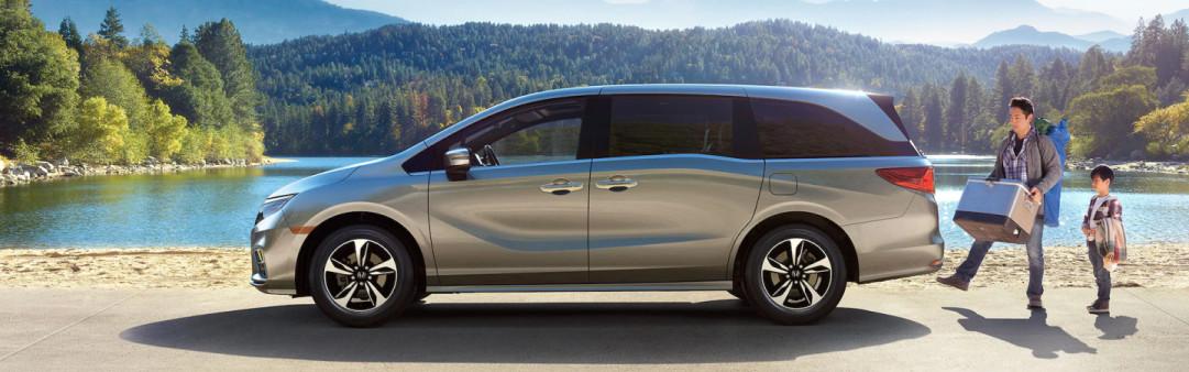 2020 Honda Odyssey vs 2020 Toyota Sienna near Washington, DC