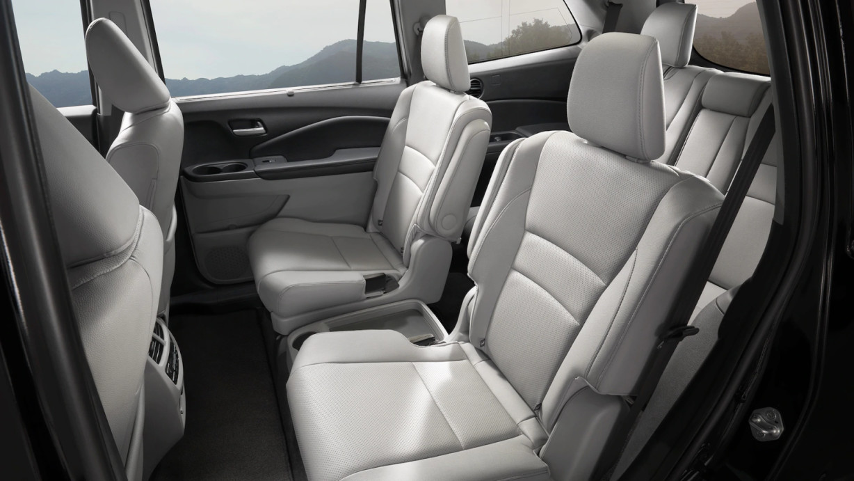 Three Rows of Seating in the 2020 Pilot