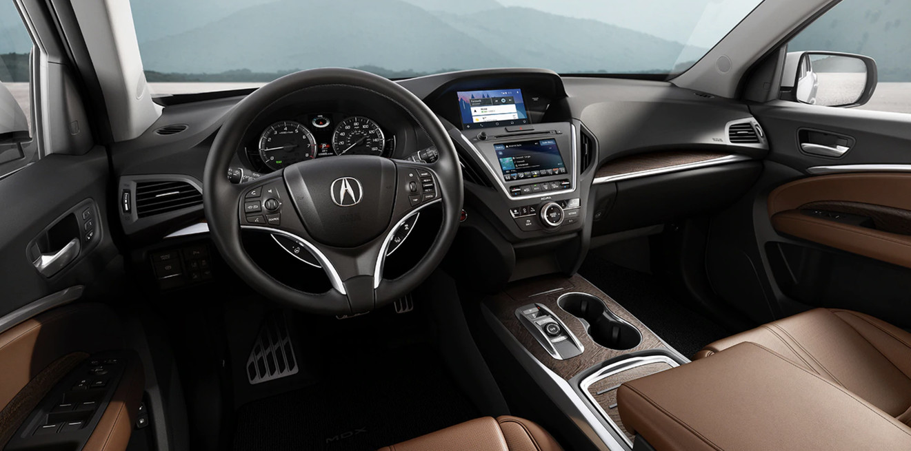 2020 Acura MDX Cockpit