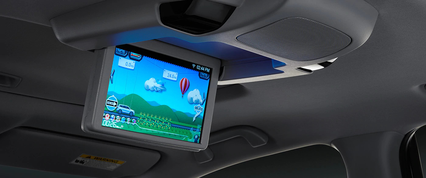 2020 Honda Pilot Advanced Rear Entertainment System
