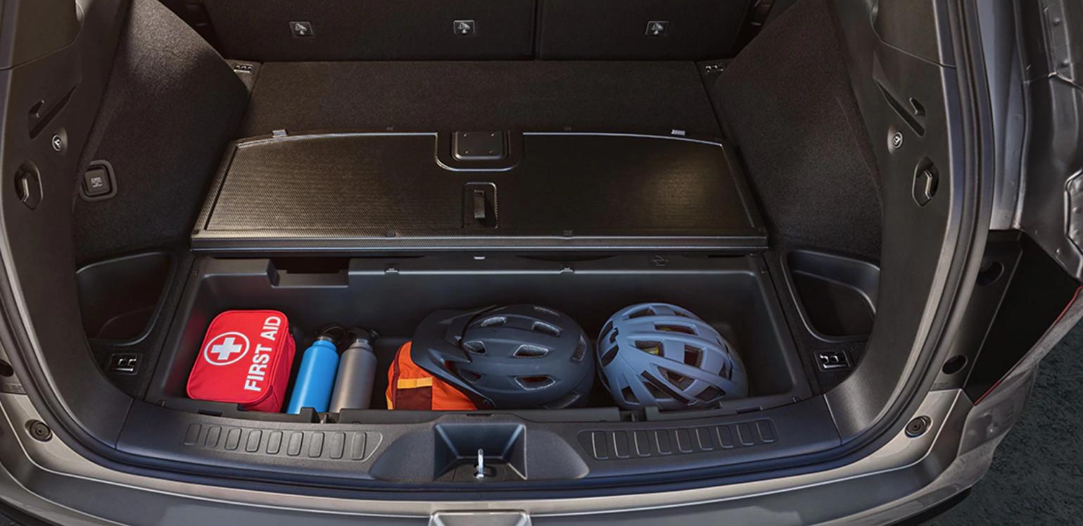 2020 Honda Passport Black Leather Interior Cargo Space