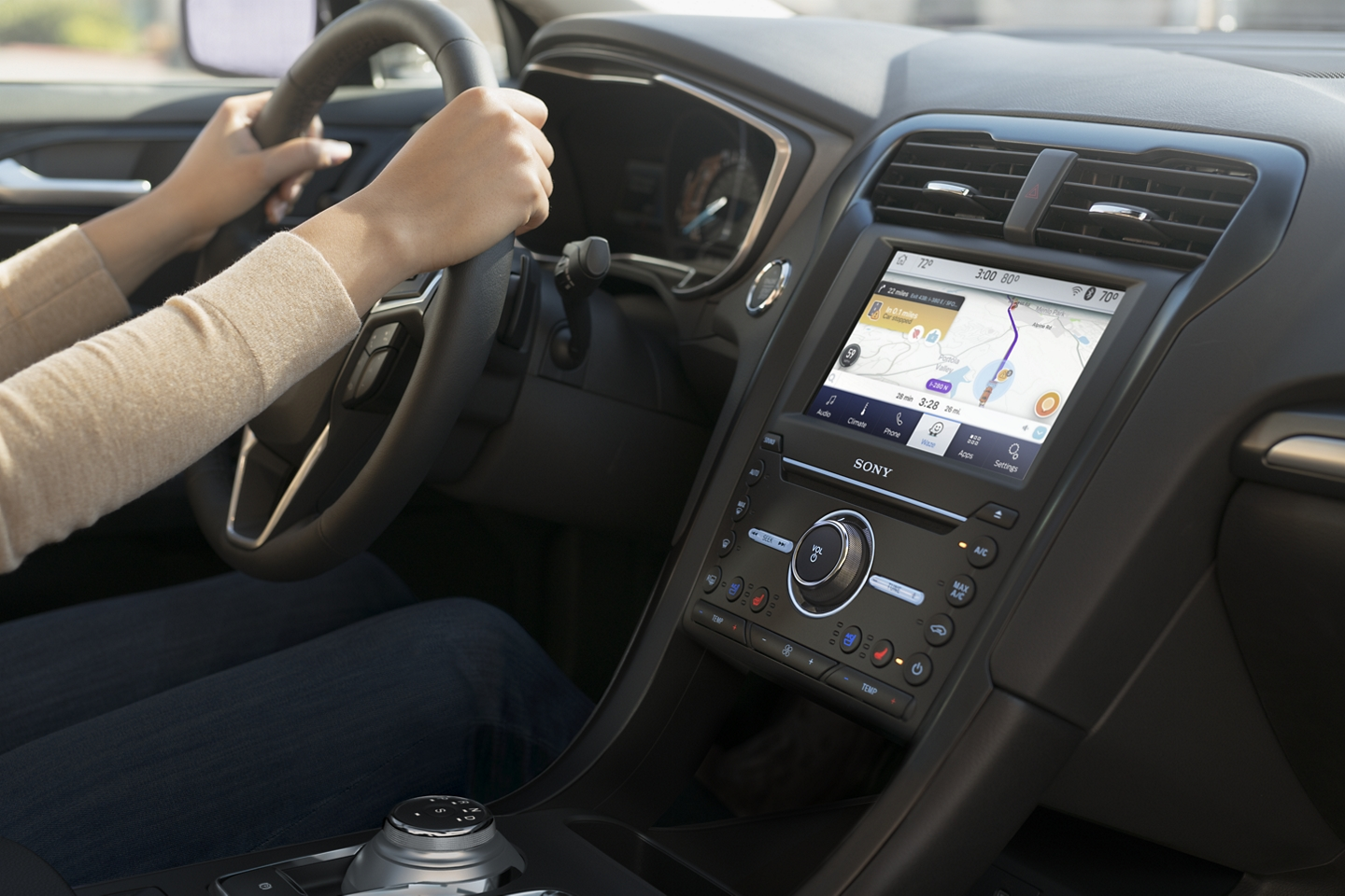 Touchscreen in the 2020 Ford Fusion
