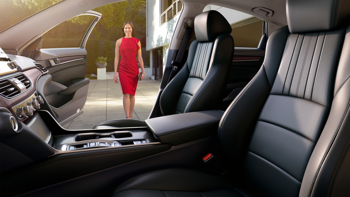 Upscale Seating in the 2020 Accord