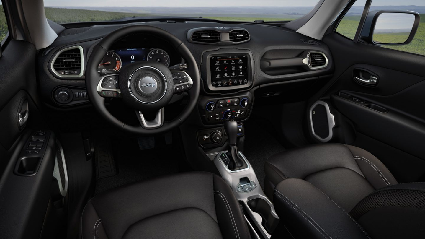 Interior of the 2020 Renegade