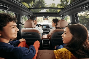 2020 BMW X5 Interior Space