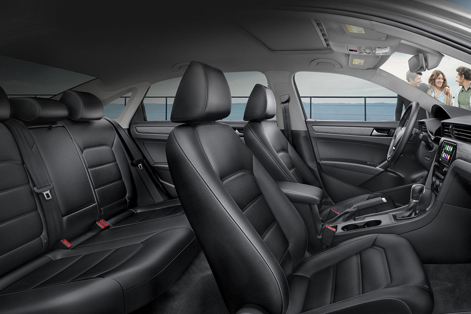 2020 Volkswagen Passat Cabin