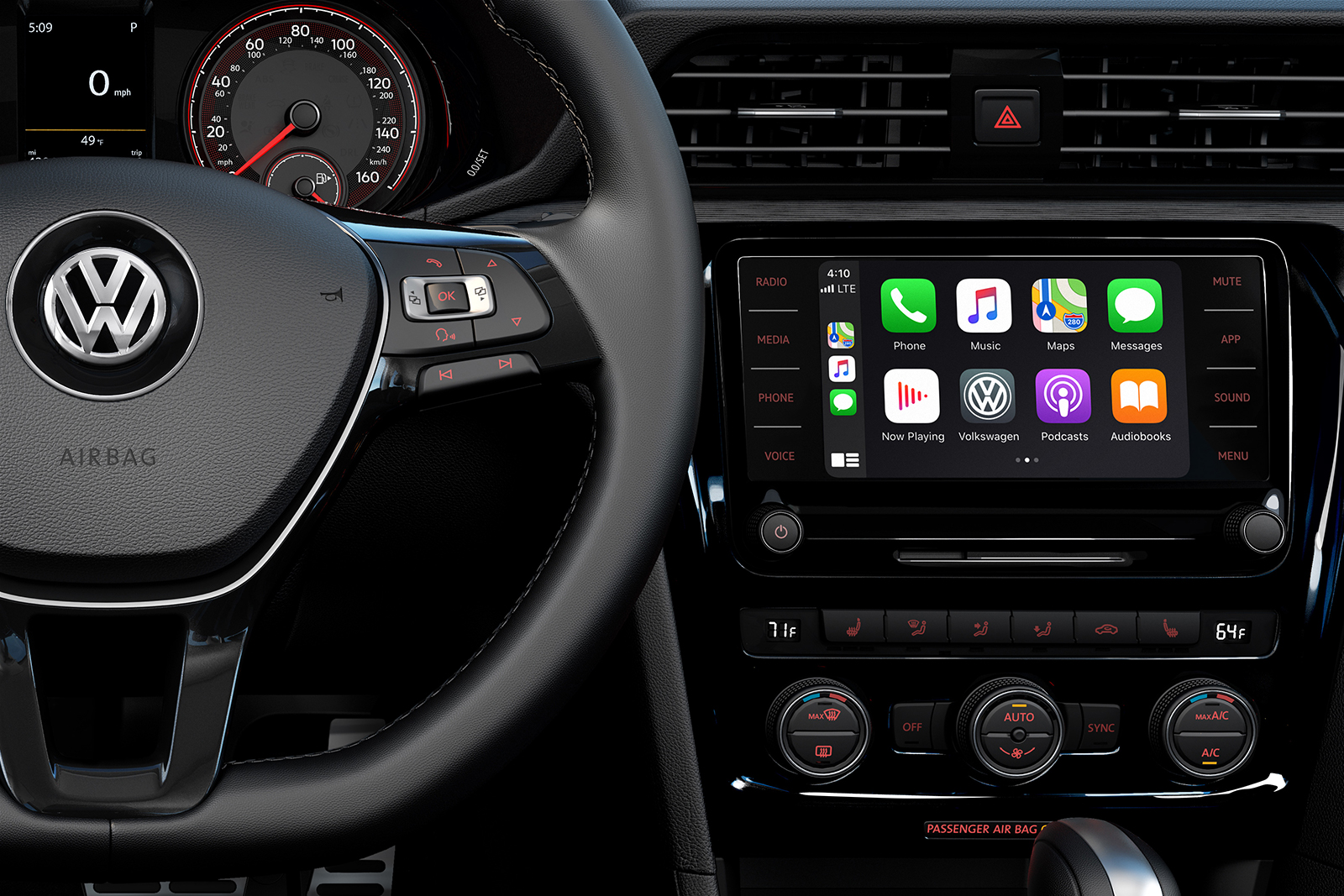 2020 Volkswagen Passat Interior Detailing