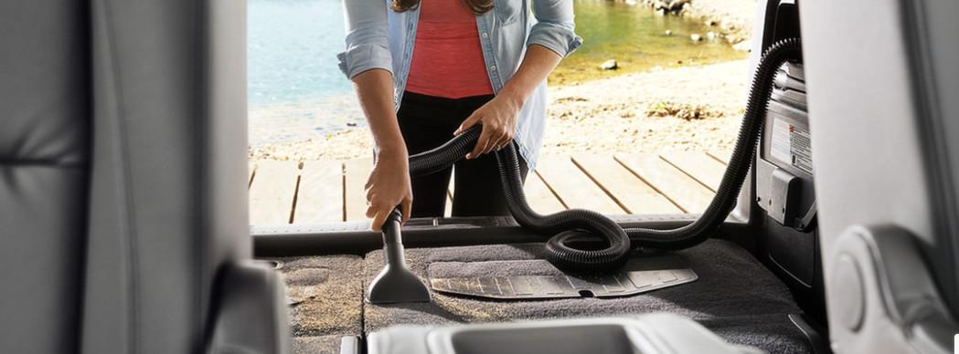 Mantener la limpieza de tu minivan no será un problema.
