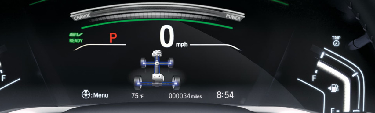 Instrument Panel in the 2020 CR-V Hybrid