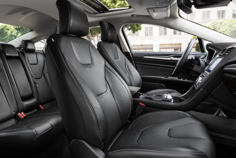 2020 Ford Fusion Interior Seats